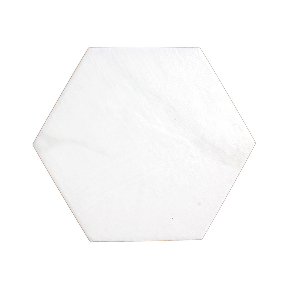 Bianco Carrara Hexagon porcelain