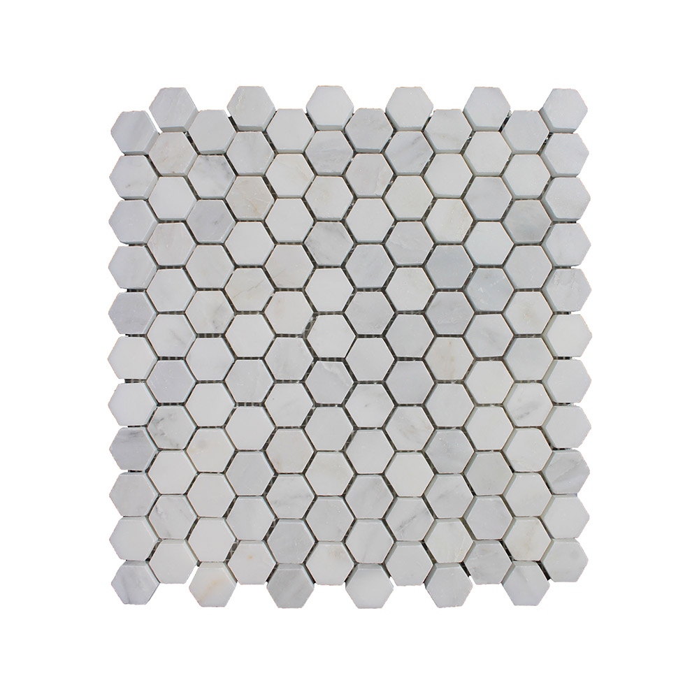 Hampton Small Hexagon - Silver Lion