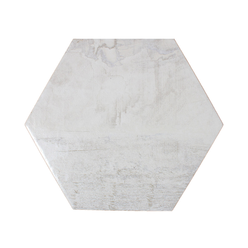 Hickory Hex White