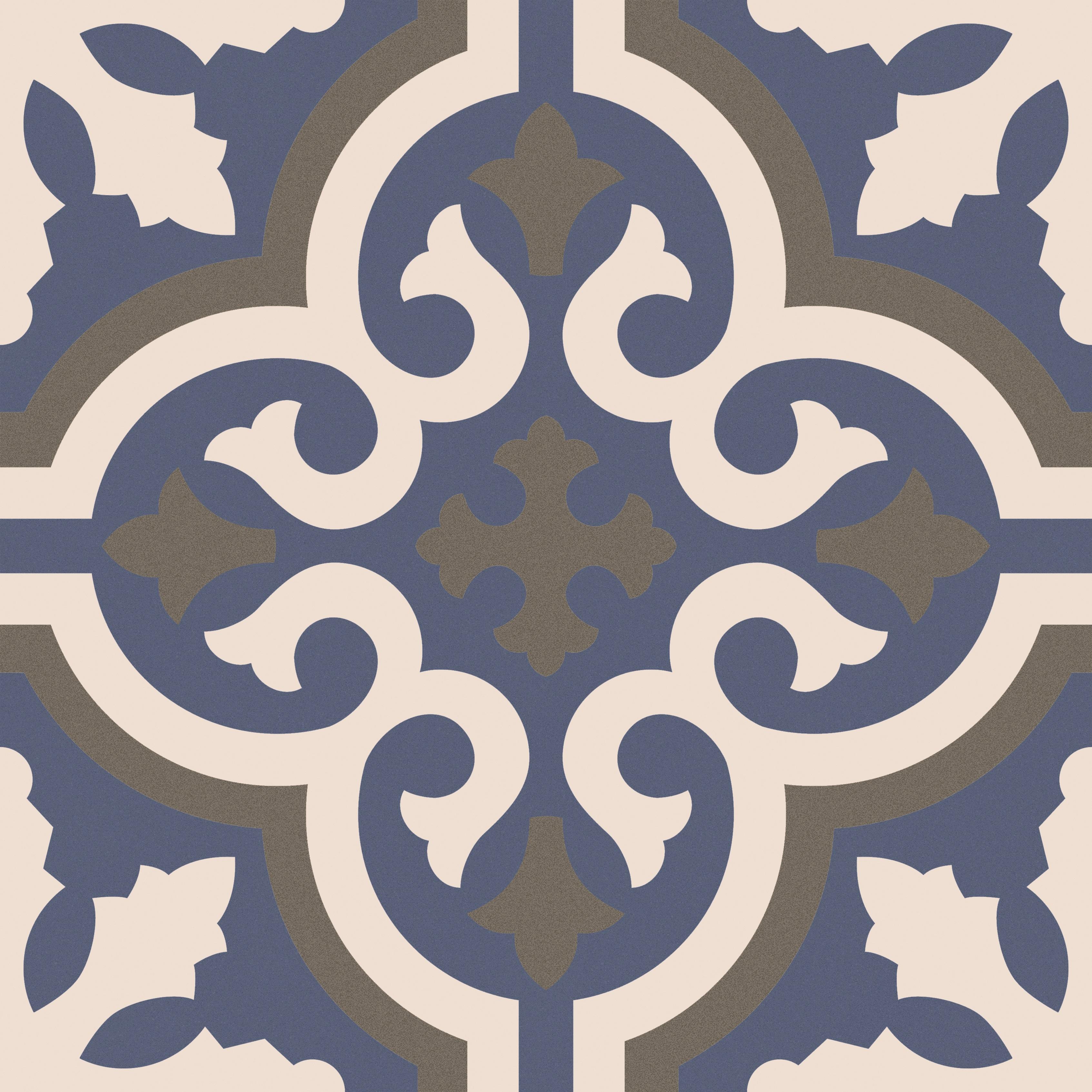 Marseille - Timon Silver Lion Trading, Marseille patterned porcelain