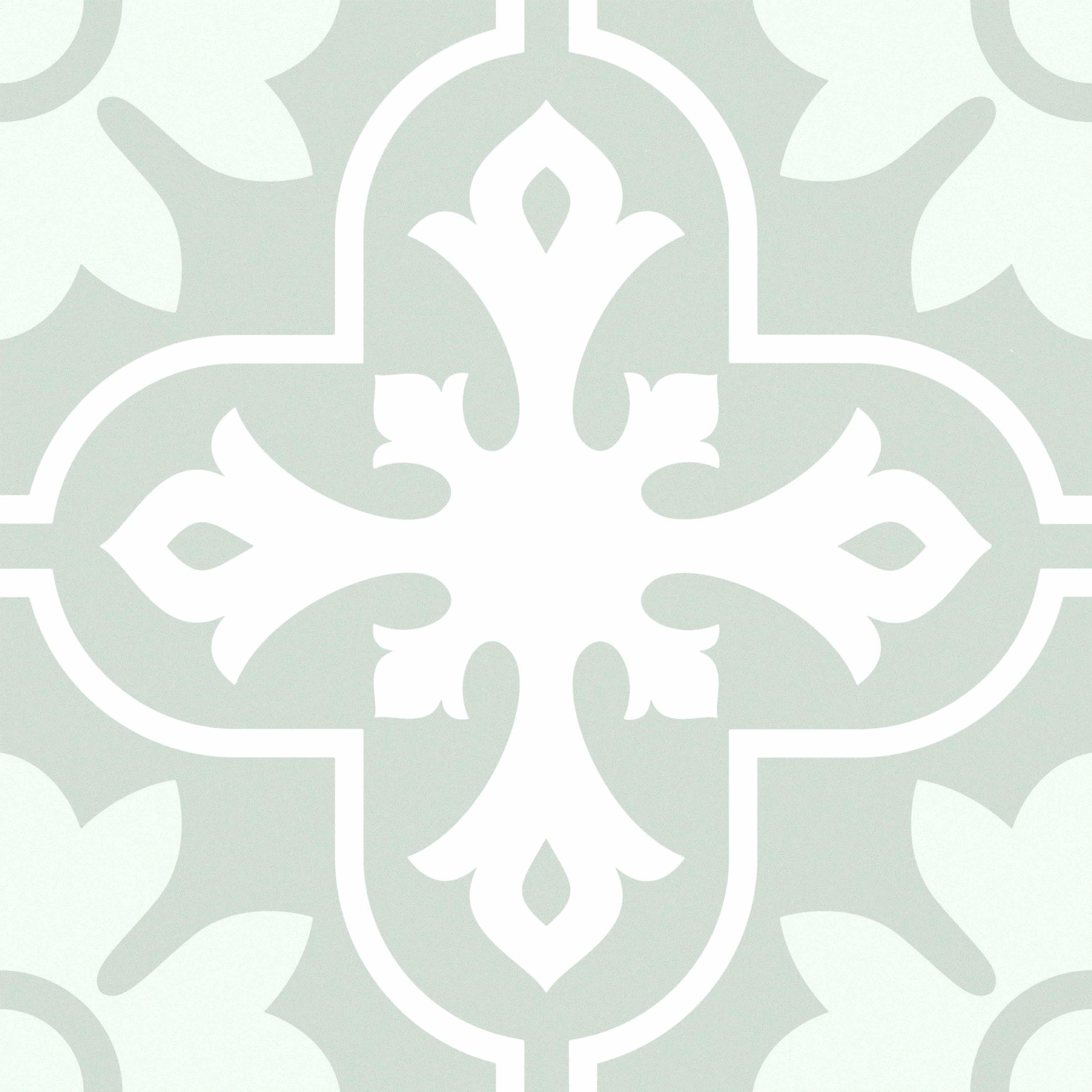 Marseille - St Julien Silver Lion Trading Marseille Patterned porcelain