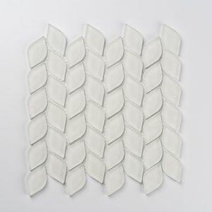 Aurora Leaf - White