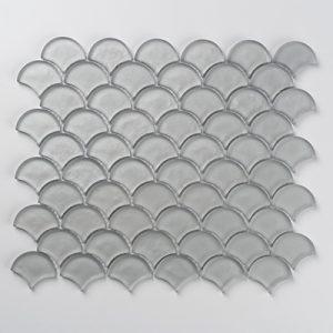 Grey Aurora Fan Mosaic